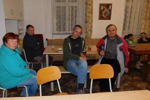 Setkání k ukončení opravy fary