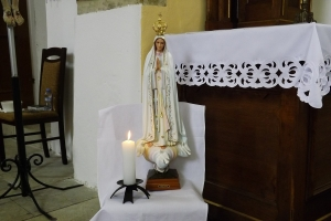 Zasvěcení farnosti Panně Marii