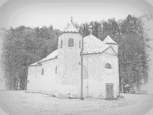 Podskala – kostel sv. Jana Křtitele